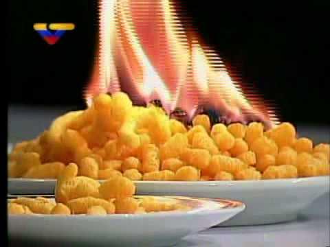 Comida chatarra: El Cheese Tris está hecho de petróleo