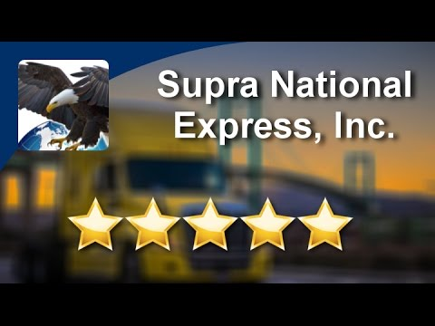 Supra National Express, Inc. Wilmington Great 5 Star Review by Noah S.