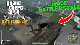 AKHIRNYA GTA San Andreas Ada Mode Battle Royale ! - GTA Indonesia