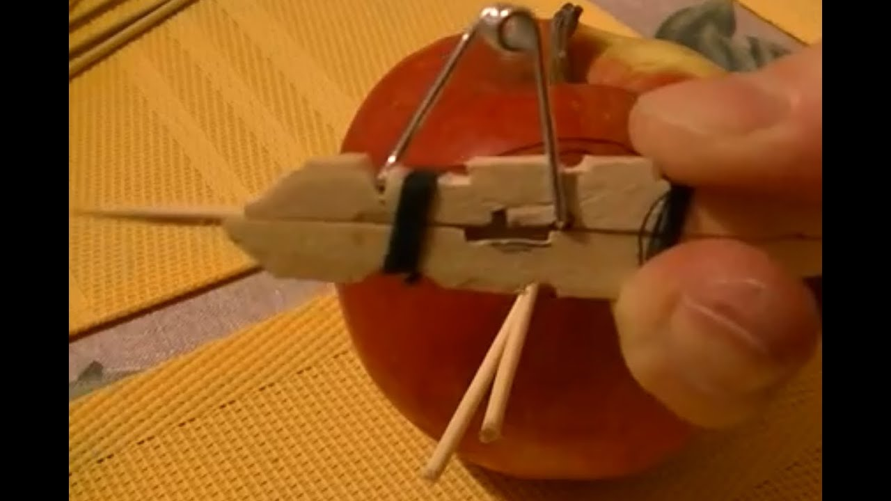 Diy How to Make a Toothpick