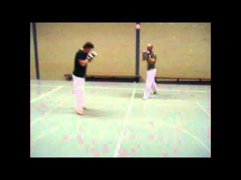 Sanda 散打 ☯ Sanshou 散手 free fight spar training 自由搏擊 Image 1