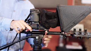 Proaim TP300 Professional Video Teleprompter for iPad & Android Tablet | Review | How to Use