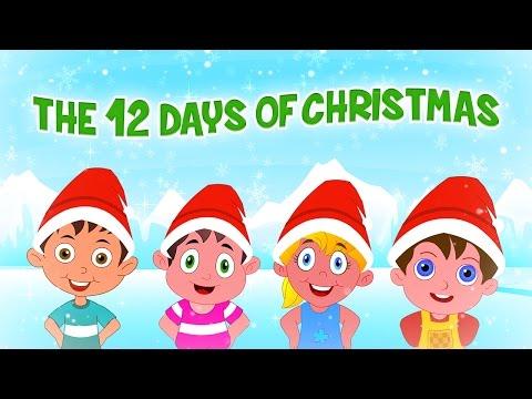 ❄♫ Twelve Days Of Christmas ♫ 🔔Famous Christmas Songs For Kids 🔔 Christmas Carols For Children ♫🔔❄