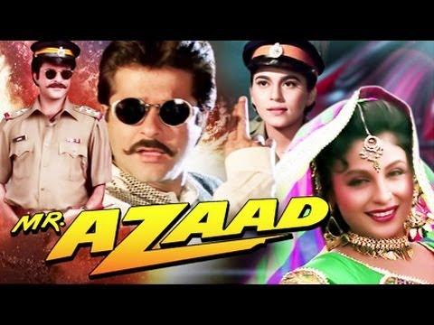 Mr. Azaad (1994) SL DM - Anil Kapoor, Shalu Aneja Walia, Chandini, Shakti Kapoor, Kadar Khan, Raju Shrivastav, Johnny Lever, Ishrat Ali