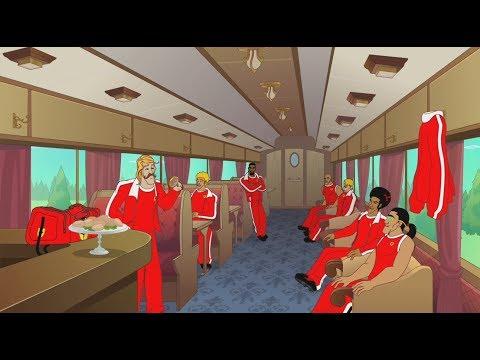 Supa Strikas - Season 3 - Ep 38 - Shakes on a Train - Soccer Adventure Series