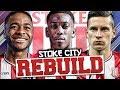 REBUILDING STOKE CITY!!! FIFA 18 Career Mode MP3