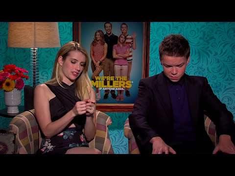 We're The Millers: Emma Roberts and Will Poulter Official Interview