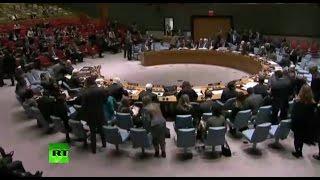 Заседание Совета Безопасности ООН по ситуации на Украине