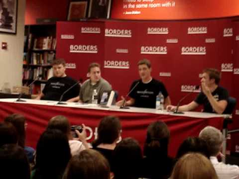 Mugglecast Live at Borders Bookstore in NYC (Summer 2009)