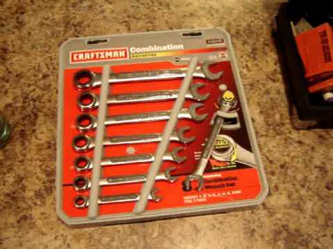 Craftsman ratching wrenches. Clarinet and Coca Cola Soda Water Bottle Yard Sale Finds #6