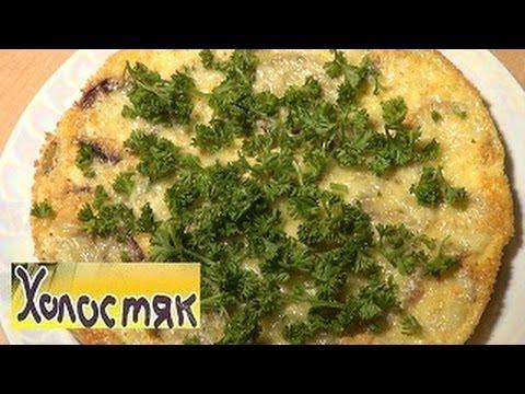 Запеканка из кабачков, яиц и сыра