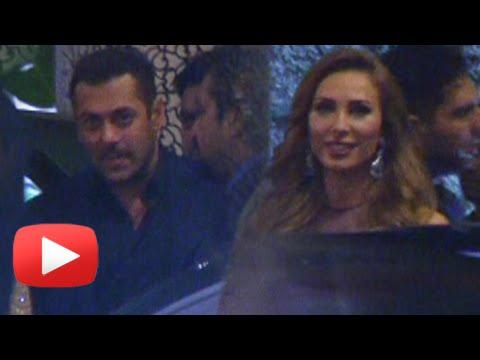 Salman Khan Iulia Vantur At Preity Zinta Wedding Reception
