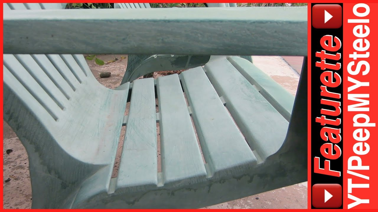 plastic adirondack chairs in resin outdoor patio lounge