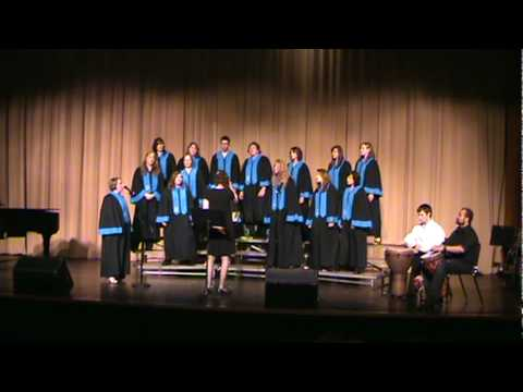 Stesha Miller - Bonse Aba, performed by Valdez High School Choir, Solo by Stesha Miller