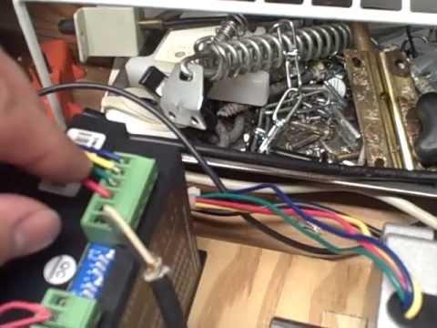 CNC Longs Motor Stepper test Nema 34