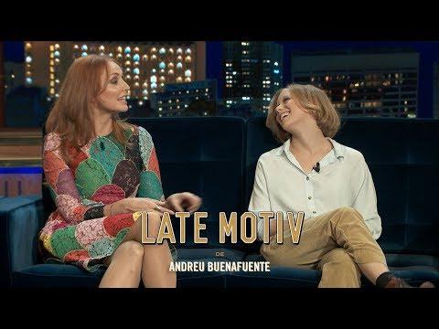 LATE MOTIV - Cristina Castaño y Laia Manzanares. 'Proyecto Tiempo: El Juego'   #LateMotiv304