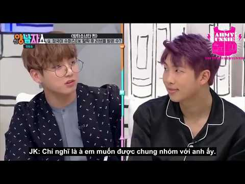[Vietsub] Động lực cho Jungkook đến với BTS (New Yang Nam show)