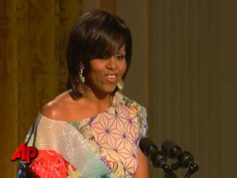 Obamas Host Poetry Night at White House