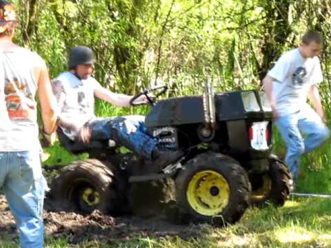 Lawn Mower Mud Bog Race Victory Maple Valley Wa Youtube