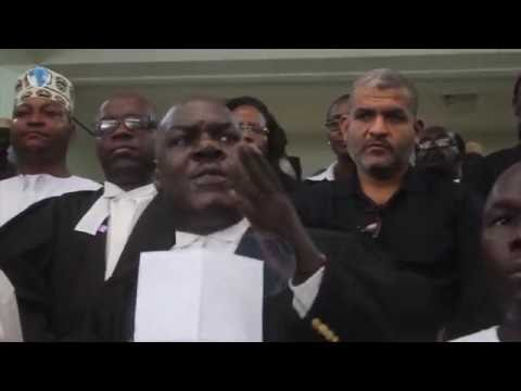 Lawyers in Mombasa join countrywide protests following the murder of lawyer Willie Kimani