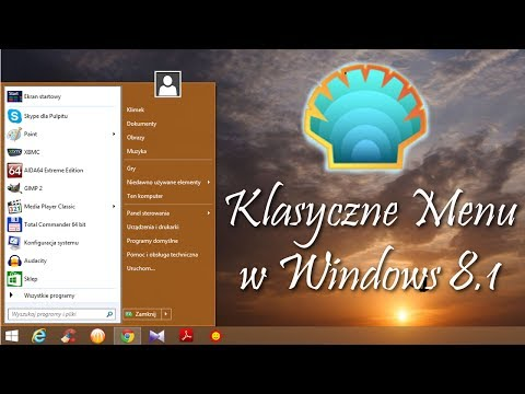 Windows 8.1 - Klasyczne Menu Start