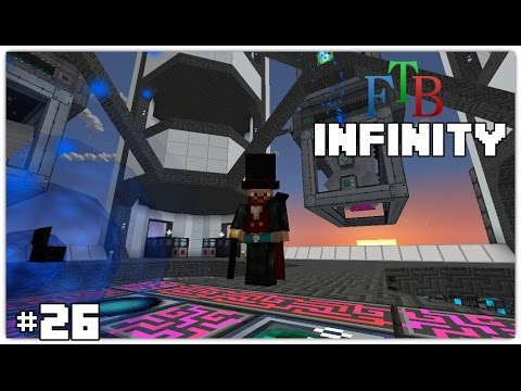 FTB Infinity #26 - Fixing the Alloy Smelting (hehe) & Becoming Vampire!