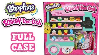 Shopkins Squish-Dee-Lish Series 2 Squishies Blind Bag Full Case Unboxing Slow Rise Food Squishies
