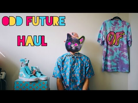 ODD FUTURE Clothing Haul + OF x Vans Sk8-Hi Donut Shoe