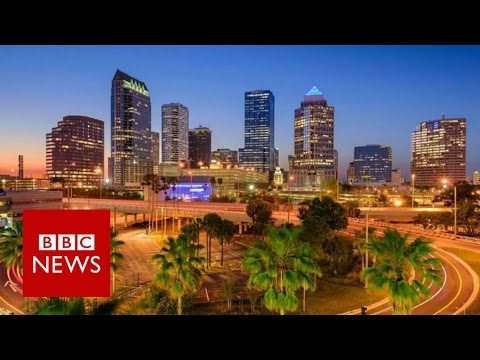 US election: The place in Florida that predicts presidents - BBC News