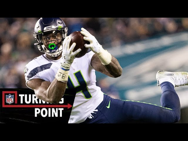 How D.K. Metcalf Broke the Rookie Receiving Record in Wild Card Weekend | NFL Turning Point thumbnail