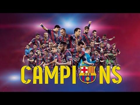 FC Barcelona, UEFA Champions League Winners 2015 (ENG)