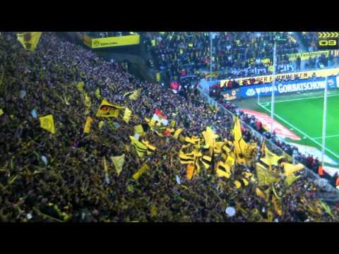 Stimmung Südtribüne: Deutscher Meister 2012 Borussia Dortmund vs. Mönchengladbach 21.04.2012 BVB