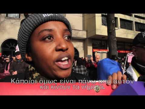 Το New Greek TV στην μεγάλη διαμαρτυρία της Ουάσιγκτον - Justice For All