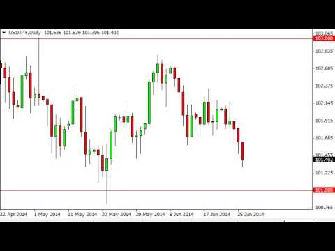 USD/JPY Technical Analysis for June 30, 2014 by FXEmpire.com