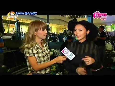 [Eng Sub] Aom interview @TV Pool 25Mar14