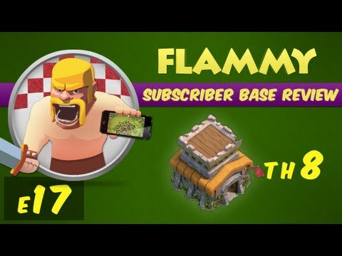 Subscriber Base Review #17 - Town Hall 8 - Clash of Clans Defensive Strategy