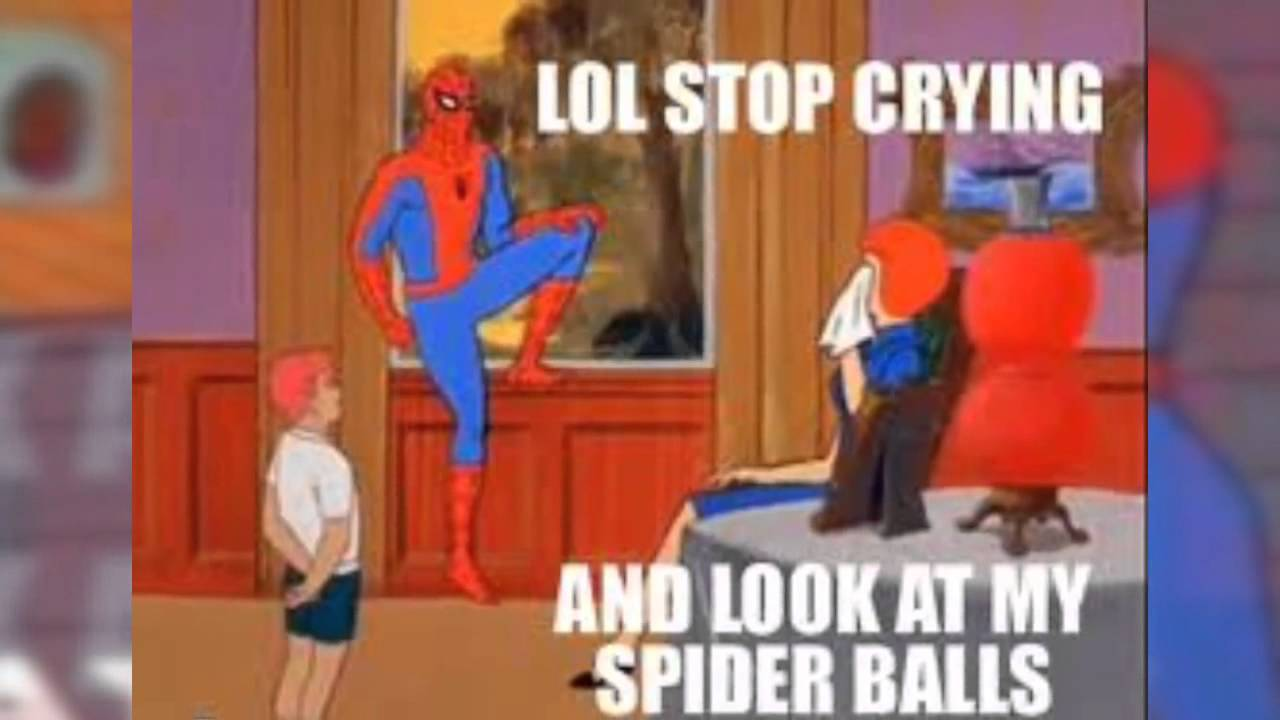 Spiderman Meme Desk Realspace L Shaped Desk