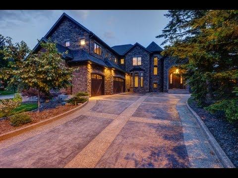 Luxury Living On Lake Bonavista   Calgary Real Estate Property Video