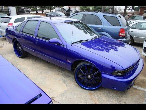 WhipAddict: Cobalt 96' Chevrolet Impala SS on Lexani 24s. LS3 Swap by @CollegeParkCustoms