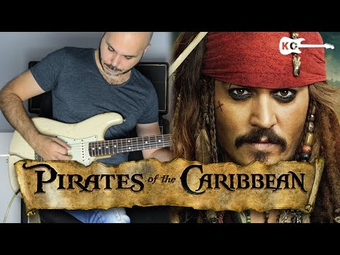 Pirates of the Caribbean Theme  - Electric Guitar Cover by Kfir Ochaion