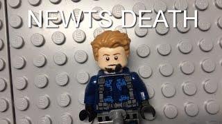 LEGO MAZE RUNNER THE DEATH CURE NEWTS DEATH