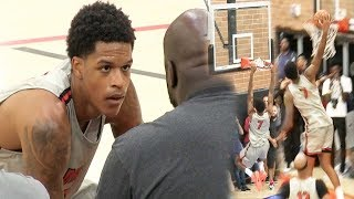 Shareef O'Neal RIDICULOUS Drew League HIGHLIGHTS! FUTURE PRO!!!😱