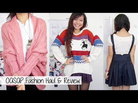 Oasap Clothing Haul & Review l Winter 2013 Fashion