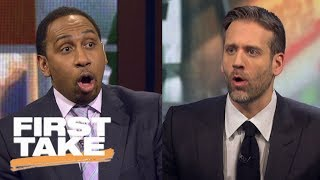 Thunder's real problem? Stephen A. and Max debate what's going on in OKC | First Take | ESPN
