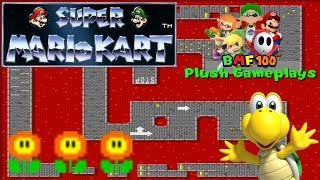 BMF100 Plush Gameplays: Super Mario Kart Koopa Troopa Gameplay!