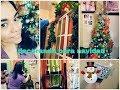 Decorando mi apartamento para navidad  limpiandovlogs poniendo mis decoraciones navideñas