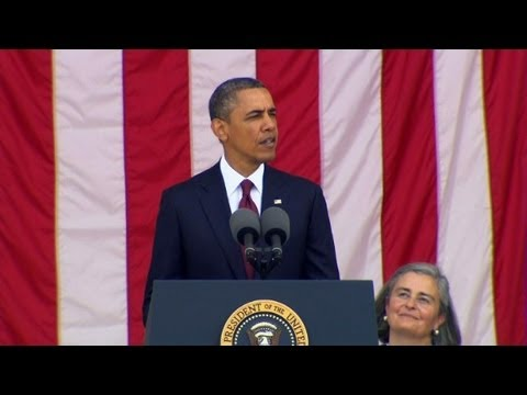 Raw video: President Obama's Memorial Day speech