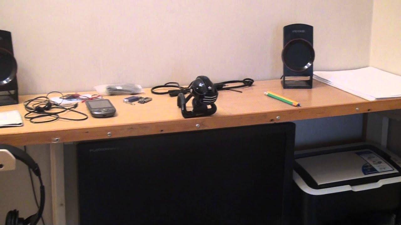 Сделать своими руками в домашних условиях компьютерный стол