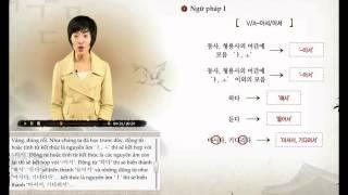 [Sơ Cấp 2] Tiếng Hàn - Bài 10: Tôi bị ốm nên đến muộn