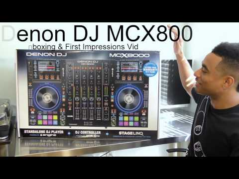 Denon DJ MCX8000 Unboxing Video